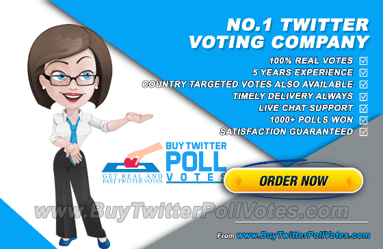 7d819217e931 Buy Twitter Poll Votes - No. 1 Twitter Voting Company - 24 7 Live Chat